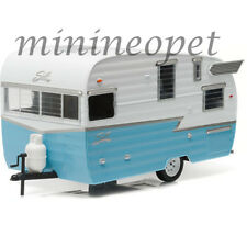 GREENLIGHT 18229 SHASTA 15' AIRFLYTE CAMPER TRAILER 1/24 DIECAST MODEL BLUE
