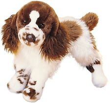 Douglas Cuddle Toys Ogilvy Springer Spaniel Dog #2027 Stuffed Animal Toy