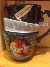 ALICE IN WONDERLAND STACKED  Coffee Tea Mug Cup Disney Park New