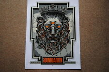 SOUNDGARDEN JUNE 4 2012 MILAN ITALY KEN TAYLOR SILK SCREEN POSTER PRINT NEW RARE