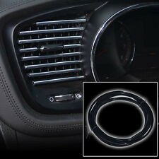 3M X 6MM BLACK U STYLE FLEX TRIM MOULDING FOR INTERIOR EDGE VENT GRILLE PANEL A