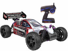 Redcat Shockwave Nitro 4x4 Buggy RTR w/ 2.4ghz Radio .16 Vertex RED