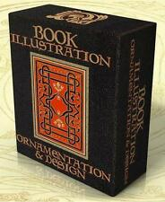 BOOK ILLUSTRATION, ORNAMENTATION & DESIGN 18 Vintage Books + Hi-Res Images on CD