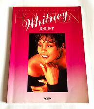 WHITNEY HOUSTON Best JAPAN VOCAL & PIANO SOLO SCORE BOOK SHEET MUSIC 1994