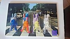 "STAR WARS BEATLES ABBEY ROAD PARODY ROCKET FIRING BOBA FETT 15"" X 10"" CUSTOM"