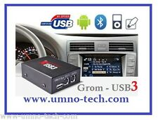 GROMAUDIO bmw DSP usb3, iPhone, Android, e38, e39, z4, x3, x5, bmw mp3 reproductor id3-text