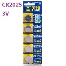 3V CR2025 DL2025 ECR2025 3 Volt Button Coin Cell Battery for CMOS watch toy x5 *