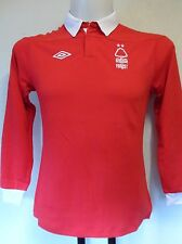 NOTTINGHAM FOREST 2011/12 L/S HOME SHIRT BY UMBRO SIZE LARGE BOYS BRAND NEW
