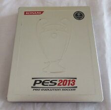 Pro Evolution Soccer 2013 PS3/PS4 Limited Edition Metal Replacement Case