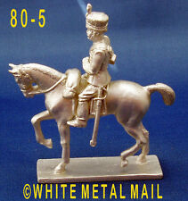 Military Lead Casting PA80-5 1:32 Scale British 10th Hussar Mounted Trooper
