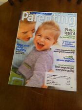 Parenting Magazine September 2007 Learning Special Mini Pizza De-Stress Youth