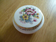 Coalport Mini Ming Rose Trinket Pot Bone China