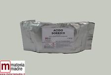 ACIDO SORBICO E 200 ½ kg 500gr NO OGM sorbic acid