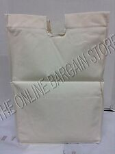 Pottery Barn Laundry Canvas Basket Hamper Liners Bins Cream Set 3 NO FRAME