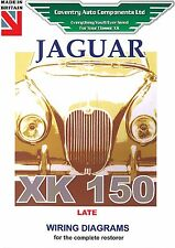 Jaguar XK150 Late Model Exploded Wiring Diagram Book (9189)