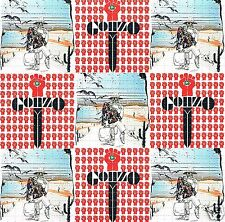 Hunter S Thompson perforato blotter ART 30 x 30 = 900 HITS LSD ACID nuovo/Nuovo di zecca