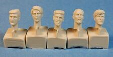 Bare Heads (1940's hairstyles), 35022 Ultracast Resin 1/35