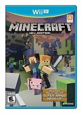 Minecraft: Wii U Edition (Nintendo Wii U Bonus Super Mario Mash-Up Video Game)