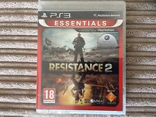 SONY PS3 RESISTANCE 2 GAME BRAND NEW PAL SEALED