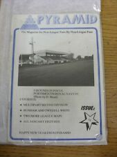 Jan-1987 Pyramid Magazine: Issue 32 - Cover photo - Portsmouth Royal Navy. Unles