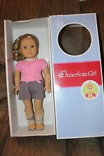 NEW In Box American Girl Truly Me Just Like You Doll 56 Blond Curly Hair Blue