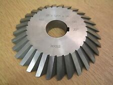 """Moore 5"""" x 5/8"""" x 1"""", 35 Degree Angle Milling Cutter - Used Condition"""