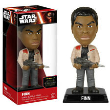 Star Wars Force Awakens Wacky Wobbler Finn Bobble Head Figure NEW Toys Funko