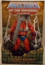 Masters Of The Universe MOTU Classics - Snout Spout Firefighter MOC With Mailer