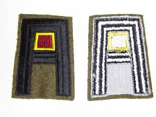 b1164 US Army 1930's- WW 2 First Army Transport  patch yellow & red center R2E