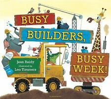 Busy Builders, Busy Week!-ExLibrary