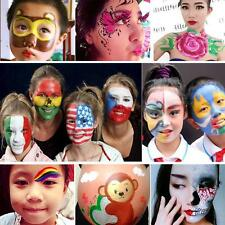 8 Colors Face Body Paint Oil Painting Art Make Up Set Halloween Party Fancy Kit