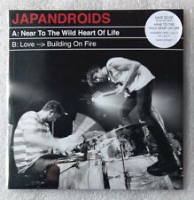 "Japandroids 7"" vinyl Talking Heads cover Love Building On Fire + Near. not rsd"