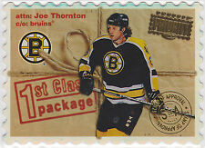 1997 97-98 Donruss Priority Stamp of Approval #207 Joe Thornton 61/100