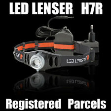 Led Lenser H7R USB rechargable head lamp 170LM Head Light Torch in ☆Gift Box☆