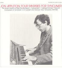 Jon Appleton - Four Fantasies for Synclavier [New CD]