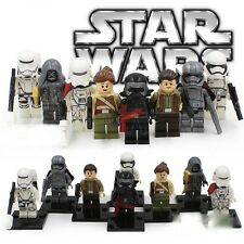 Star Wars Force Awakens - Despertar de la fuerza - minifigures LEGO - PACK 8