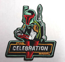 "Star Wars Celebration V BOBA FETT Logo 4"" Patch- FREE S&H (SWPA-C-607)"