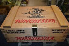 Vintage Edition Winchester Wooden Ammo Box New In Box Item # 3005 Free Shipping