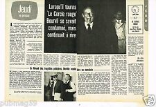 Coupure de presse Clipping 1975 (2 pages) Bourvil Le Cercle Rouge