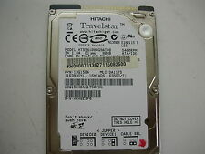 "Hitachi Travelstar 80gb HTS541080G9AT00 320 0A21010 01 2,5"" IDE"