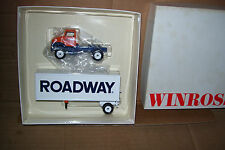 1994 Roadway Winross Diecast Single Pup Trailer Truck