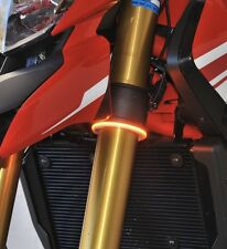 New Rage Cycles Rage 360 LED Front Turn Signals Triumph Thruxton R 54MM