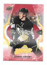 #7/25 SIDNEY CROSBY 2016-2017 UD MVP SUPER SCRIPTS PARALLEL SP GOLD RARE