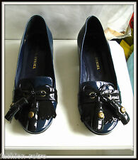 Chaussures Ballerines Sonia Rykiel cuir made italie 36/37 shoes vintage
