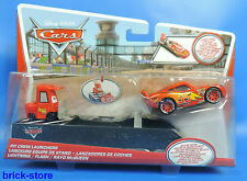 Disney Cars pit crew launchers/y7887/ligtning/flash/Rayo McQueen