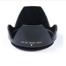 52mm Flower Petal Lens Hood For Nikon D3100 D5000 D3000 D5100 D5200 D60 AF-S CI