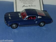 Matchbox MOY 1967 67 FORD MUSTANG FASTBACK -Dk Blue 1/43 MINT IN BOX