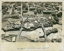 1974 Aerial View of Expo in Spokane Washington Original News Service Photo