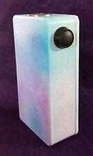 Triple Series 18650 MOSFET Mod Box Flashlight Textured Cotton Candy