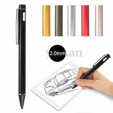 Rechargeable 2.0mm Active Stylus Capacitive Drawing Pen For iPad Android Tablet